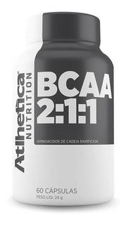 Bcaa 2:1:1 (60caps) Atlhetica Nutrition