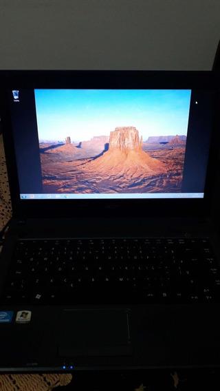 Notebook Acer Aspire 4349 Bom Estado Windows 7 Intel Celeron