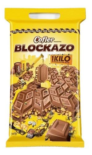 Chocolate Blockazo Cofler 1kilo - Barata La Golosineria