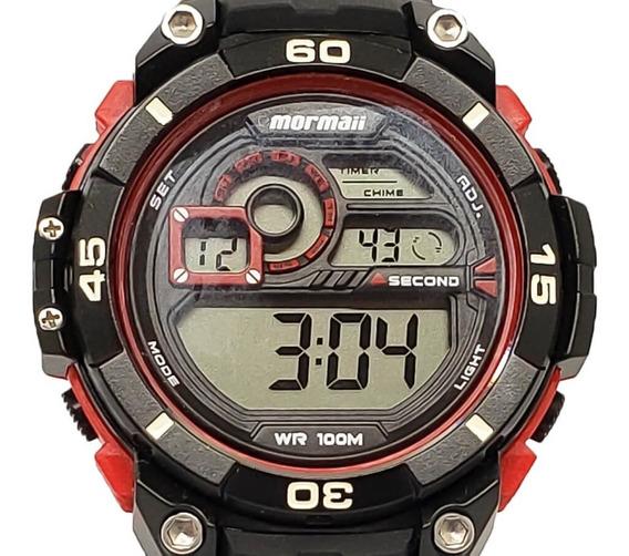 Relógio Masculino Mormaii Mo2019/8r Original Nf-e
