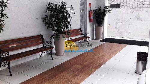 Imagem 1 de 15 de Apartamento Com 1 Dormitório À Venda, 50 M² Por R$ 140.000,00 - Canto Do Forte - Praia Grande/sp - Ap13645