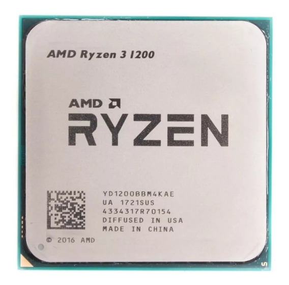 Ryzen 3 1200 3.1ghz 10mb Am4 Oem S/ Cooler