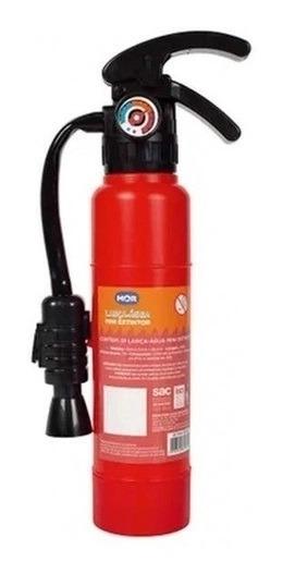 Brinquedo De Piscina Lança Água Modelo Extintor 26cm Mor