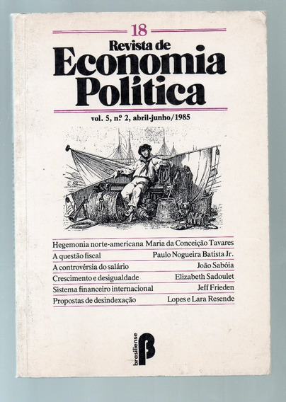 Revista De Economia Politica 18 Vol. 5 Nº 2 Abr Jun 1985