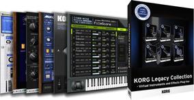 Korg Legacy Collection (windows E Mac) + Instalação