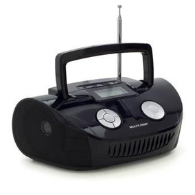 Som Portátil Digital Boombox 15w Usb Sd P2 Rádio Fm Sp182