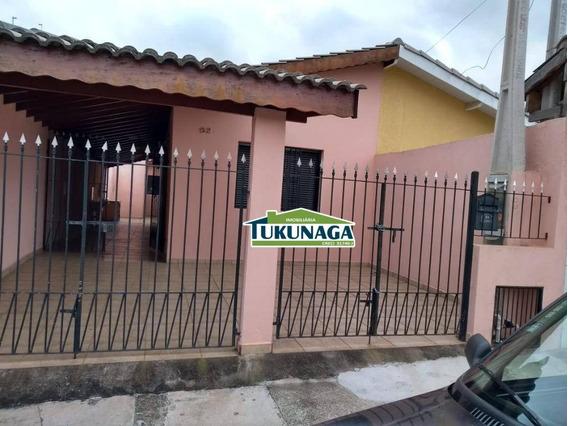 Casa Com 2 Dormitórios Mais Edicula À Venda, 104 M² Por R$ 260.000 - Jardim Brasil - Atibaia/sp - Ca0390