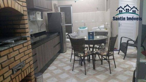 Cobertura Sem Condomínio De 144 M² Com 03 Dormitórios (sendo 01 Suíte) À Venda, Por R$ 475.000 - Vila Pires - Santo André/sp - Co0394