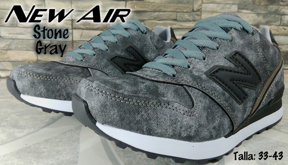 Tenis New Air Ref: Stone Gray