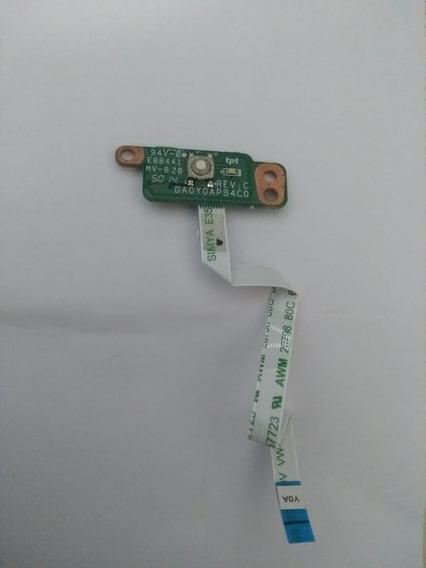 Botão Power Hp 11-d010nr / Da0y0pb4c0 Rev:c