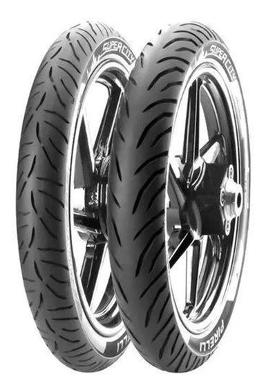 Par De Pneus Pirelli Suzuki Yes 125 Sem Câmara