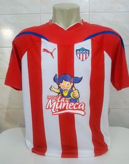 Camisa Junior Barranquilla 2011 - De Jogo - Tamanho M - Rara