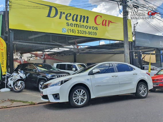 Toyota Corolla Xei 2.0 Branco 2015