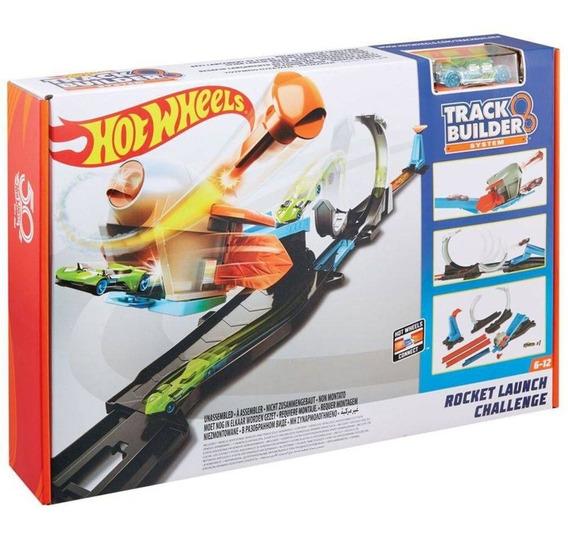 Hot Wheels Track Builder Desafio Lançador - Mattel Flk60