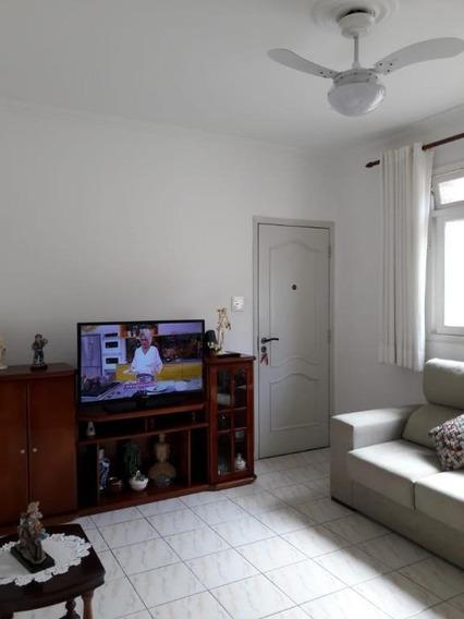 Apartamento Em Marapé, Santos/sp De 75m² 2 Quartos À Venda Por R$ 270.000,00 - Ap357326