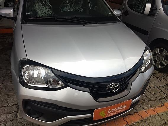 Toyota Etios 1.5 X Plus 16v Flex 4p Automático