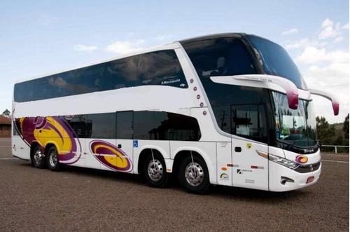 Ônibus Marcopolo Paradiso 1800 Dd 8x2 Leito Seminovo Volvo