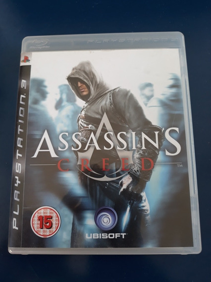 Jogo Assassins Creed 1 Ps3 Europeu