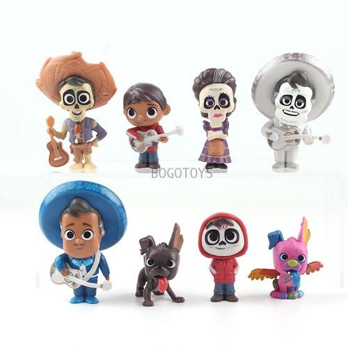 Coco Disney Coleccion Set X8 Figuras