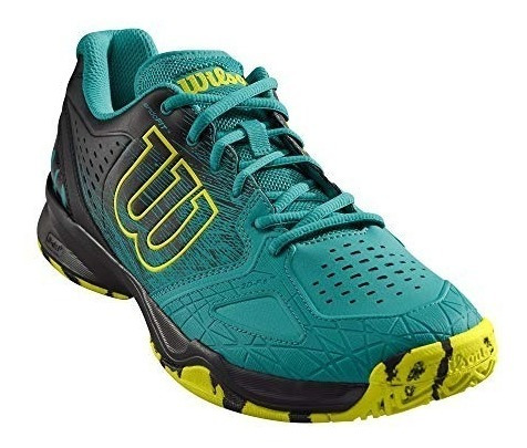Zapatilla Wilson Kaos Comp Tropical Green/black/safety Yell