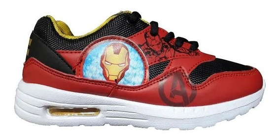 Zapatillas Marvel Deportivo Cordon Ironman Junior 1921003344