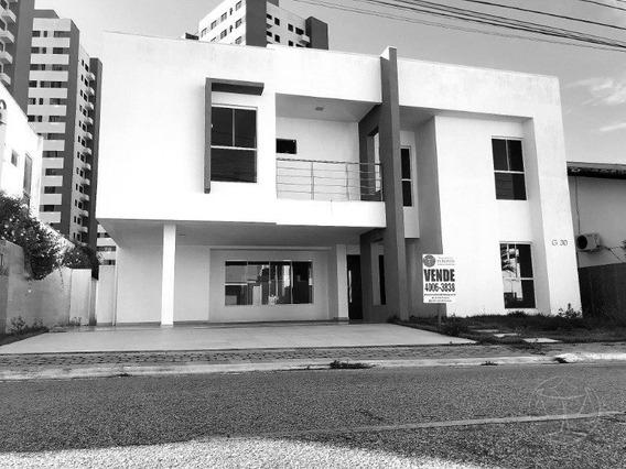(8664) Casa Em Condominio Fechado - Ponta Negra Boulevard, 4 Dorm - V-8664