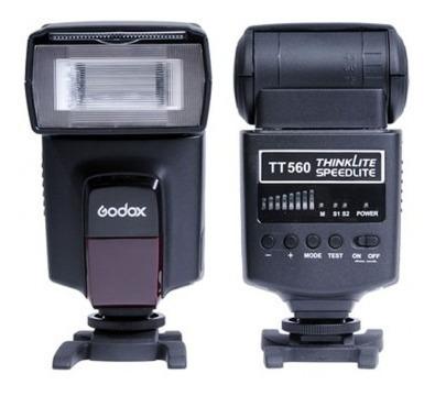 Flash Godox Tt560 Speedlite (canon / Nikon / Olympus)