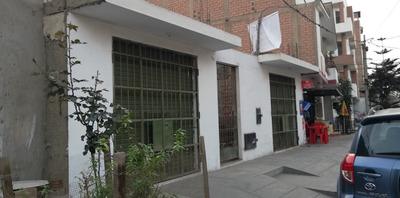 Casa De 01 Piso, 02 Tiendas, Independientes .con Baño