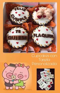 Cupcakes Personalizados Cumpleaños Enamorados Consulta Antes