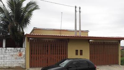 Casa Em Bopiranga, Itanhaém/sp De 86m² 3 Quartos À Venda Por R$ 300.000,00 - Ca233657