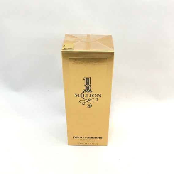 Perfume Paco Rabanne 1 One Million 200ml - Selo Adipec Origi