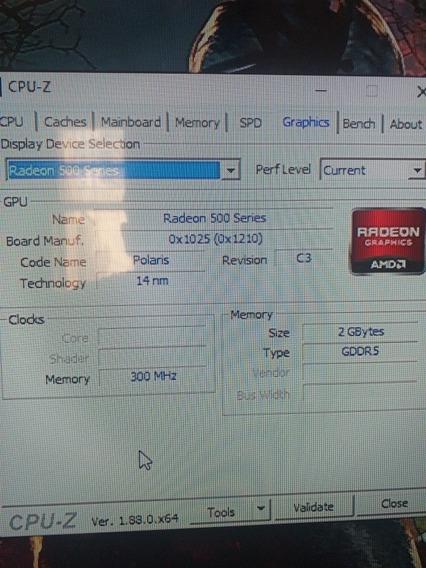 Notebook Acer Aspire 5, Com 8g De Ram, 1t Hd, Radeon 540 2g