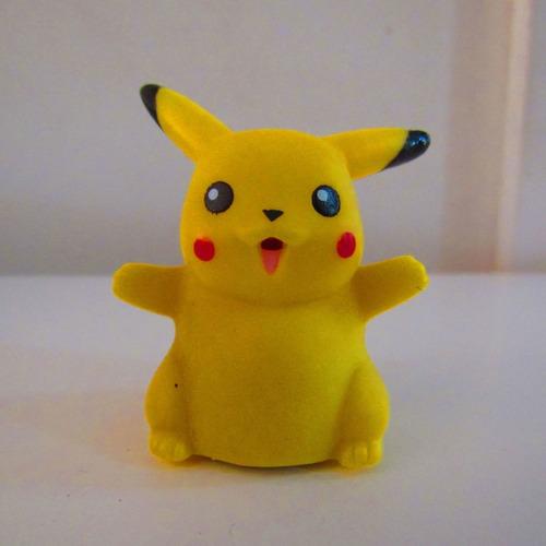 Imagen 1 de 6 de Mini Figura Vintage Pikachu Nintendo 1999