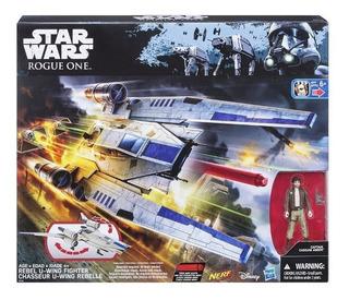 Star Wars Nave R1 Rebel U-wing Con Figura Original Hasbro