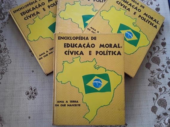 Enciclopédia De Educação Moral Cívica E Política Vols. 1234