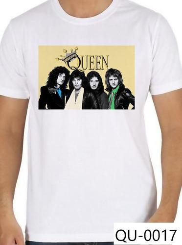 Imagen 1 de 7 de Camiseta Freddie Mercury Queen Grupo De Rock Playera