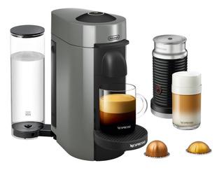 Cafetera Nespresso Vertuo Plus Delonghi + Aeroccino + Capsul