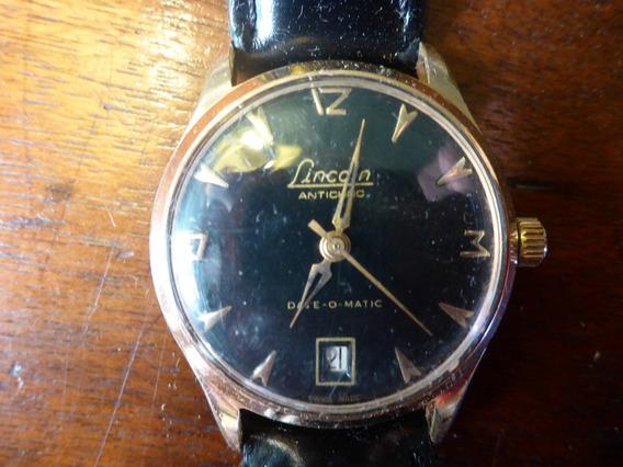 Relógio Lincoln Anos 50 Automático, Prova D