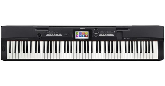 Piano Digital Casio Privia Px360 Preto Fonte + Pedal Sustain