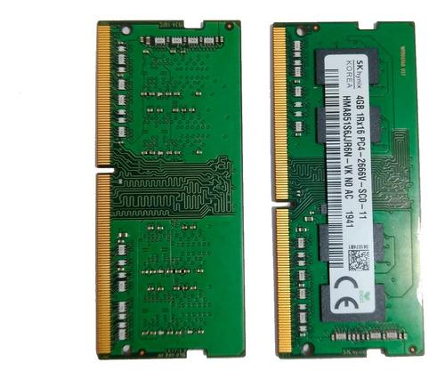 Memória Ram 4gb Ddr4 Para Notebook