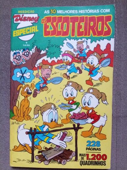 Disney Especial Reedição Os Escoteiros N.°9 Ed. Abril 1982