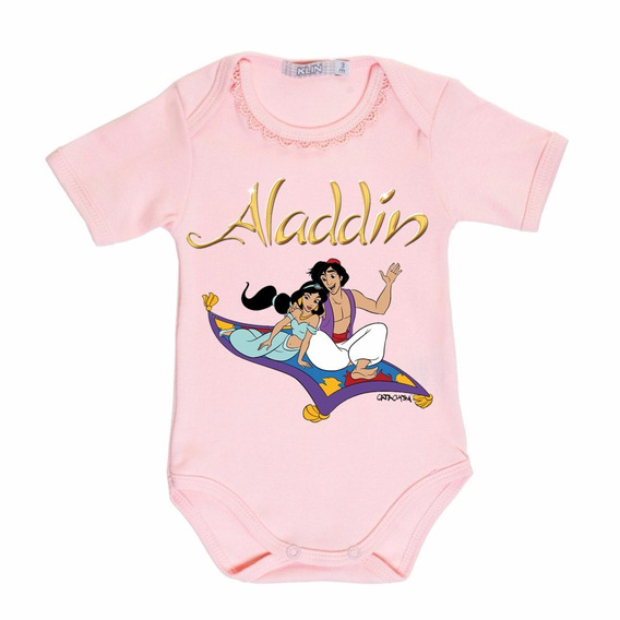 Body Para Bebê Estampa Aladdin Da Cataclysm Inc.