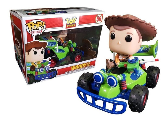 Funko Pop Rides Toy Story Woody With Rc 56