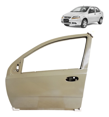 Puerta Delantera Chevrolet Aveo Activo - Family