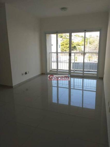 Apartamento Com 3 Dormitórios Para Alugar, 78 M² Por R$ 2.300/mês - Amarilis Condominium Club - Arujá/sp - Ap0491