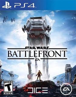 Star Wars Battlefront Ps4 Digital Tenelo En Minutos 2°
