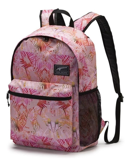 Mochila Puma Clásica Academy Backpack Liqui Pink