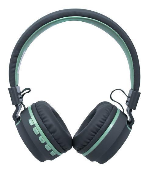 Fone De Ouvido Headset Bluetooth Microfone Hs310 Verde - Oex