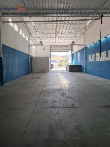 Galpão Comercial Para Locação, Jardim Satélite, São José Dos Campos. - Ga0026