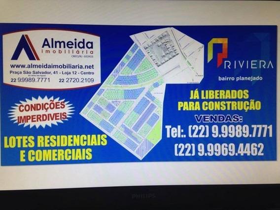 Terreno Loteamento Riviera Campos Dos Goytacazes Rj Brasil - 346